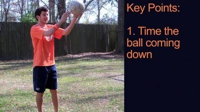 Soccer Tip - How to Juggle a Ball with Your Thighs