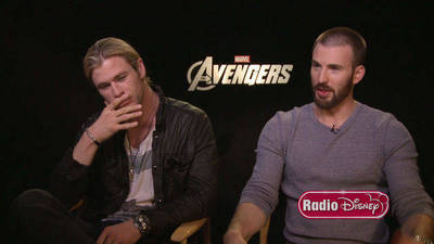 Thor and Captain America - Radio Disney