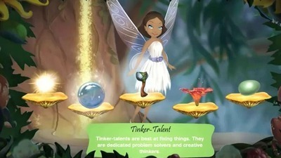 Pixie Hollow: Create a Fairy and Fly!