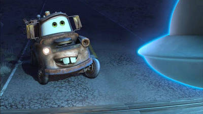 Unidentified Flying Mater - Cars Toons: Mater's Tall Tales