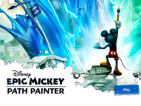 Epic Mickey: Path Painter