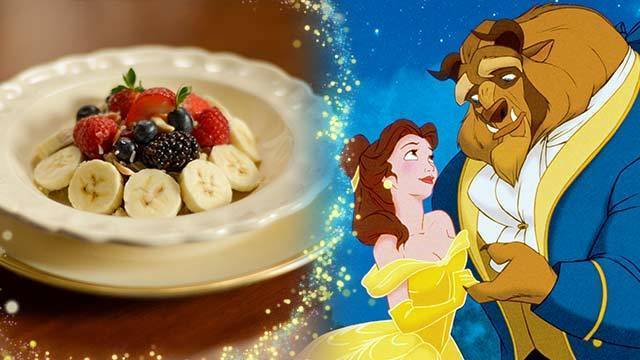 Belle's Enchanted Breakfast Porridge