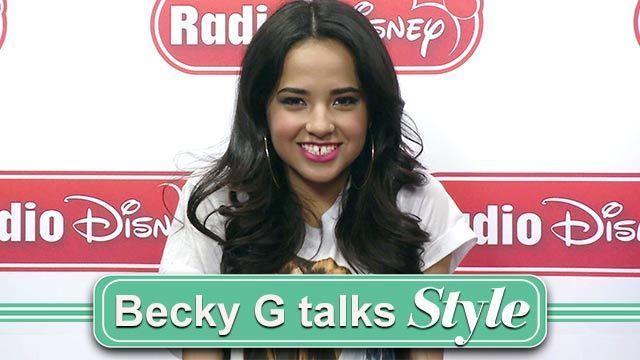 Becky G Talks Style - Radio Disney