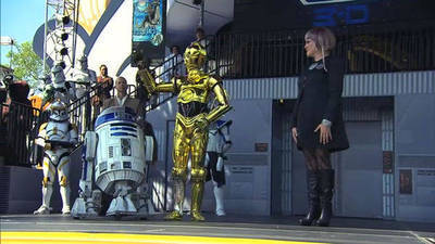 Star Tours Re-opening
