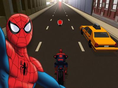 Jeu spider moto ultime jeux disney fr - Jeux de ultimate spider man gratuit ...