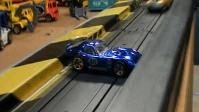 Die Cast Race - Chevelle v. Cobra