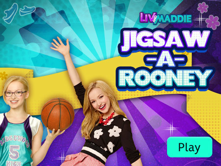 Liv and Maddie - Jigsaw-A-Rooney