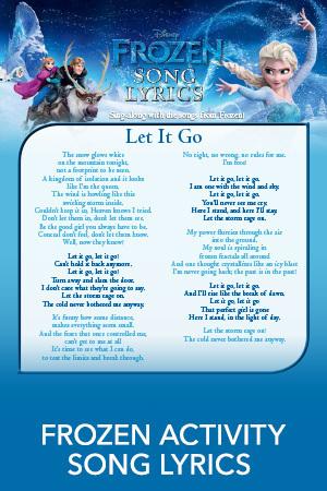 Frozen Sing-Along, Lyrics, & Soundtrack | Disney Frozen