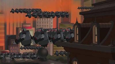 Clip: Robot Riot