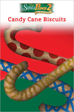 Candy Cane Biscuits