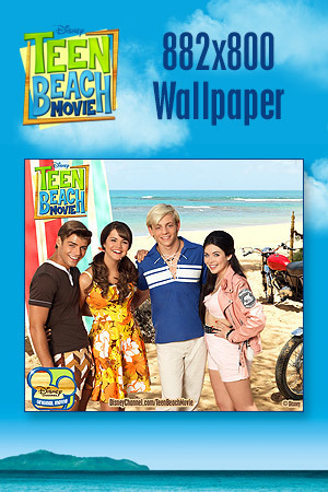 Teen Beach Movie Wallpaper - Bikers vs. Surfers 882x800