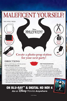 Maleficent - Photo Props