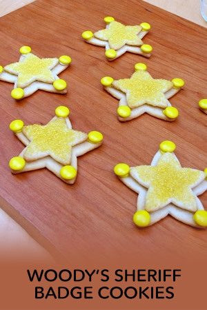 Sheriff Badge Cookies