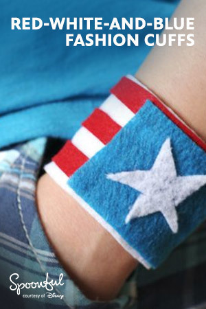 Red-White-And-Blue Cuffs