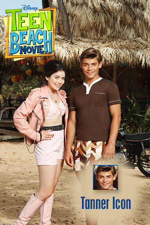 Teen Beach Movie Icon - Tanner