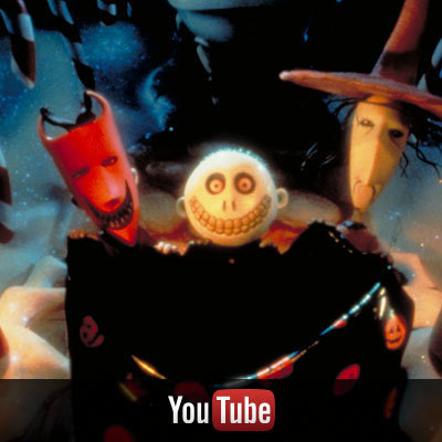Nightmare Before Christmas on YouTube