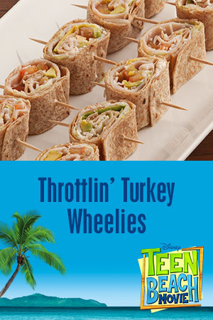 Teen Beach Movie Party Kit - Recipe (Throttlin' Turkey Wheelies)