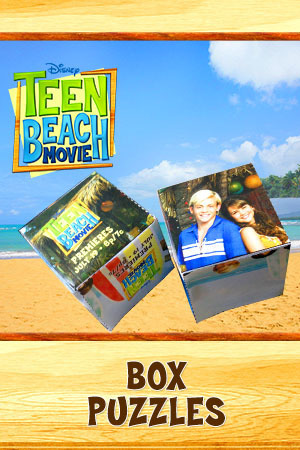 Teen Beach Movie Printable - Block Puzzles