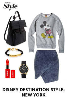 Disney Destination Style: New York