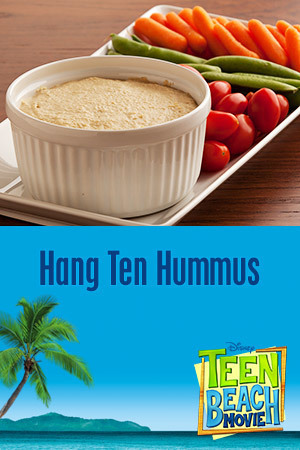Teen Beach Movie Recipe - Hang Ten Hummus