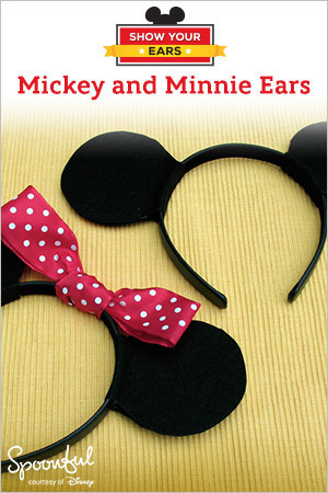 Mickey and Minnie Ears