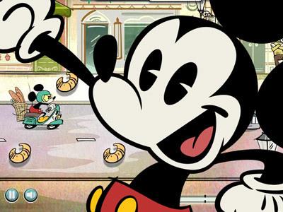 Mickey's Bezorgrace