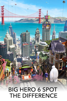 Big Hero 6 Spot the Difference