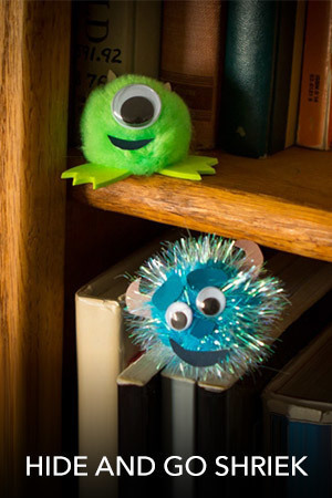 Monsters, Inc. - Hide and Go Shriek