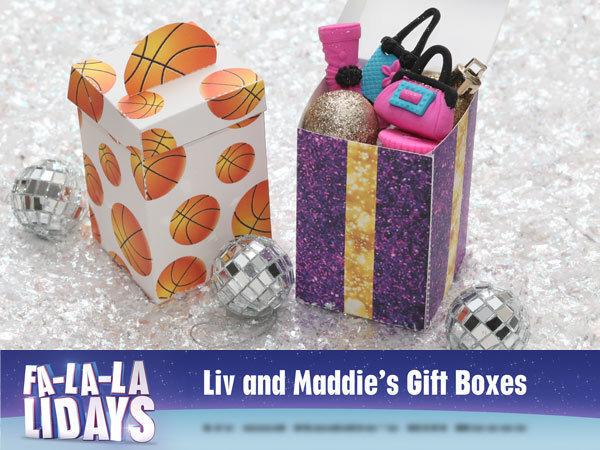 Fa-la-la-lidays: Liv and Maddie Gift Boxes