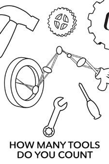 Disney Imagicademy Printable - Count the Tools