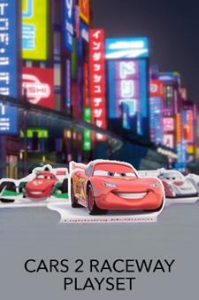 Cars 2 Raceway Playset