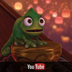 Tangled on YouTube