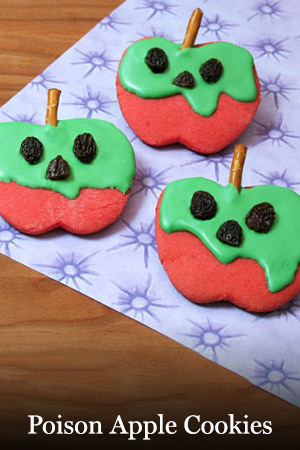 Snow White - Poison Apple Cookies