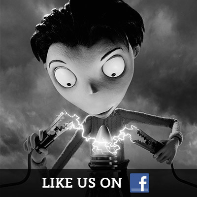 Frankenweenie on Facebook