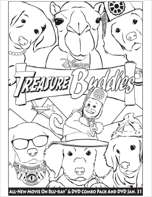 Treasure Buddies Activity Sheets