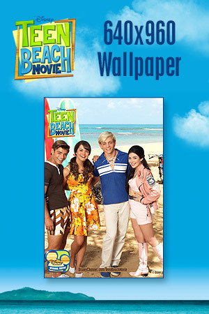 Teen Beach Movie Wallpaper - Bikers vs. Surfers 640x960