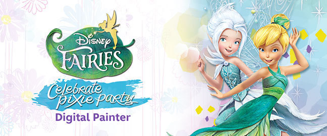 Pixie Party Digital Painter