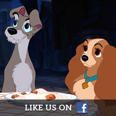 Lady and the Tramp on Facebook