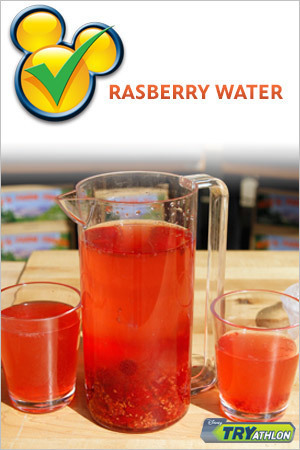 TRYit Recipe - Raspberry Water