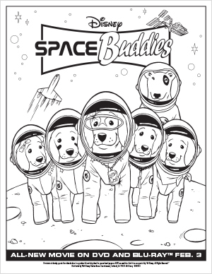 Space Buddies Activities