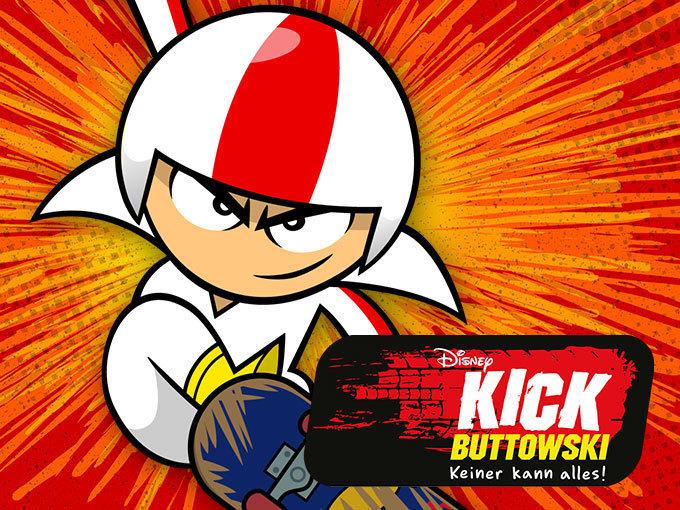 kick buttowski spiele