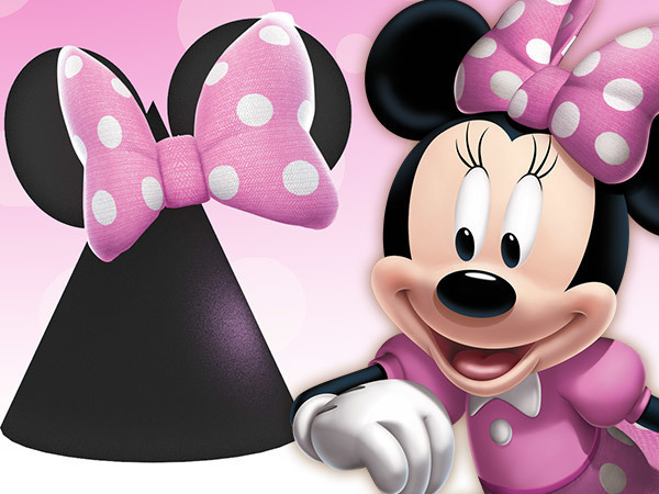 Chapéu da Festa da Minnie