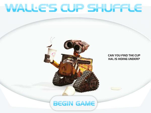 WALL-E - Cup Shuffle