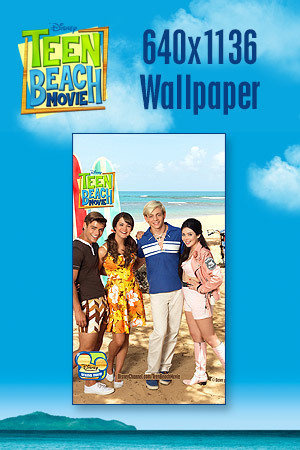 Teen Beach Movie Wallpaper - Bikers vs. Surfers 640x1136