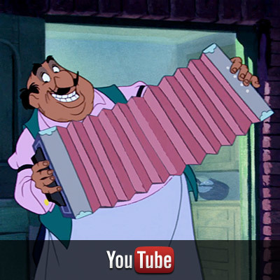 Lady and the Tramp on YouTube