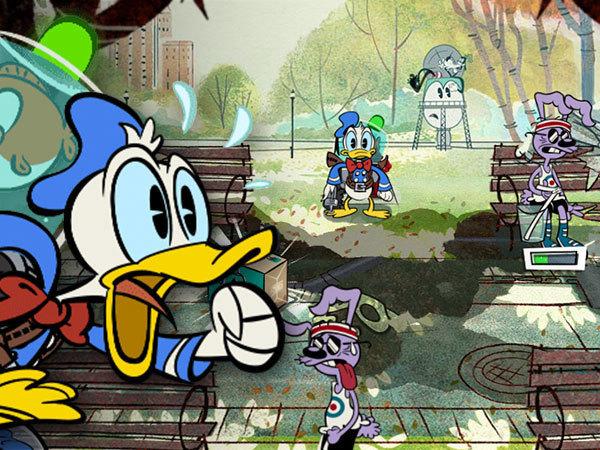 Kaczor Donald i wodna gorączka