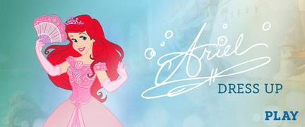 Ariel Dress Up