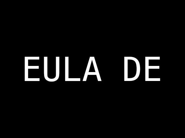 EULA DE