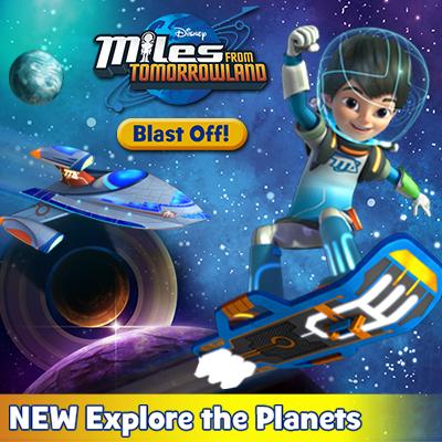 Blast Off & Explore