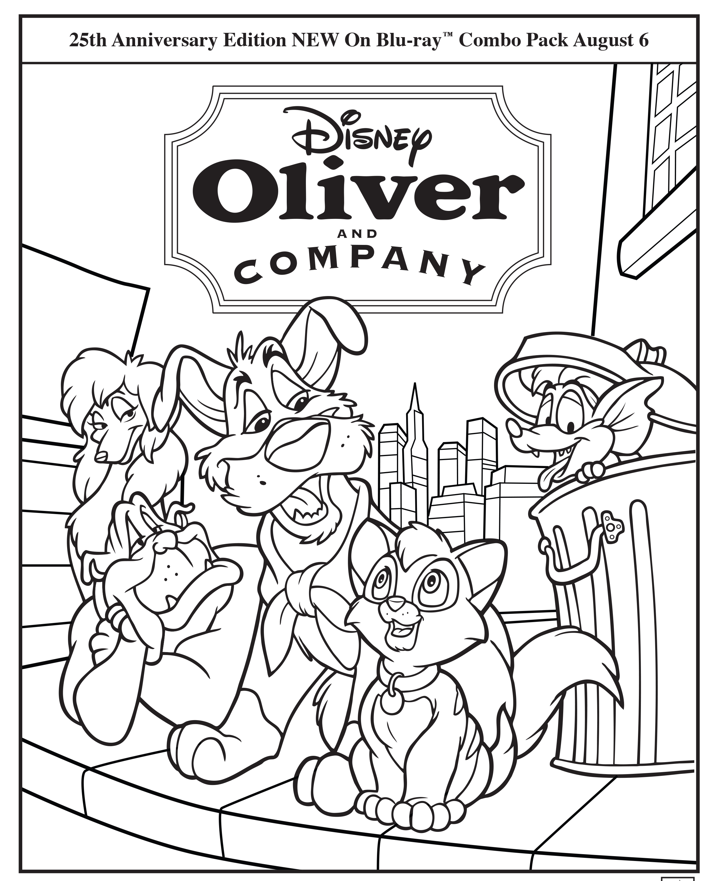 oliver twist coloring pages - photo#33
